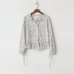 Rococo Flower Blouse