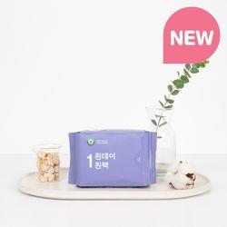 [리뉴얼] 원데이원팩 유기농 생리대 중형 1팩(7P)