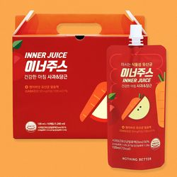 낫띵베럴 사과당근 유산균 이너주스 10입