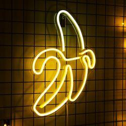 어반 LED 네온 바나나 BIG 벽걸이 무드등