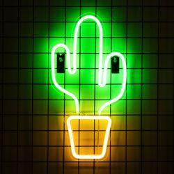 어반 LED 네온 선인장 BIG 벽걸이 무드등