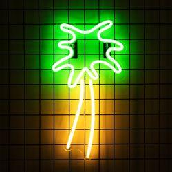 어반 LED 네온 야자나무 BIG 벽걸이 무드등