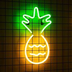 어반 LED 네온 파인애플 BIG 벽걸이 무드등