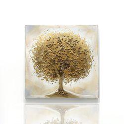 유화 골드펄트리 GT1001 금나무 그림 인테리어액자