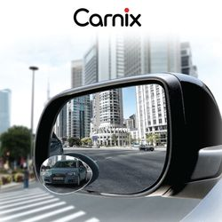 CARNIX 자동차 사이드 사각지대 보조미러타원형 2P