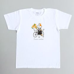 Flower market T-shirt