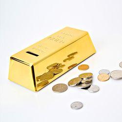 골드바 금괴 저금통 (대) 지폐보관함 돈통