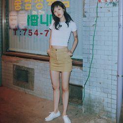 [서울어패럴]SEOUL Apparel Cargo Skirts (Beige)