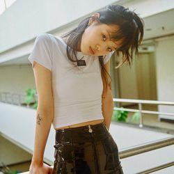 [서울어패럴]SEOUL Apparel Crop T-shirts (White)