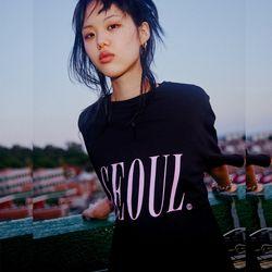[서울어패럴]SEOUL Apparel SEOUL T-shirts (Black)