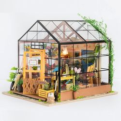 [무료배송] S [adico]DIY 미니어처 시그니처 하우스 - 홈 가드닝