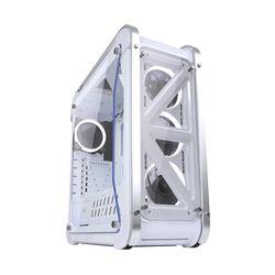 세컨드찬스 긱스타 320G 풀 아크릴 화이트 LED Snow Edition