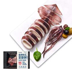 국내산 자숙 오징어 슬라이스 100gx20팩(2kg)