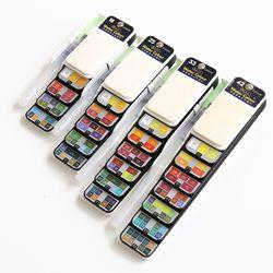 휴대용물감 고체물감 미술파레트 25색 UATCR0152