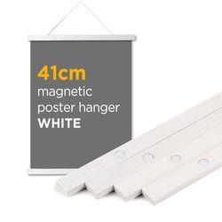 자석 포스터 걸이 - 화이트 41cm (A2 포스터용)