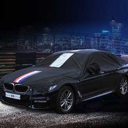 VIP 블랙삼선띠 자동차 하프바디커버 (2호)
