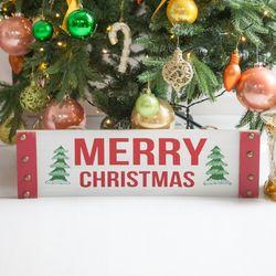 자이언트우드글자 60x17cm 크리스마스 장식 TROMCG