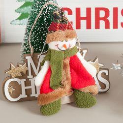 슈노 눈사람 16cm 트리 크리스마스 장식 인형 TRDOLC
