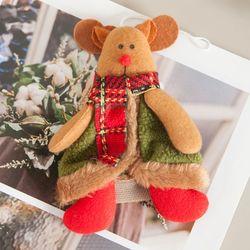 슈노사슴 14cm 트리 크리스마스 장식 인형 TRDOLC