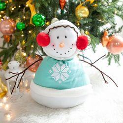 귀여운눈사람 44cm 트리 크리스마스 장식 인형 TRDOLC