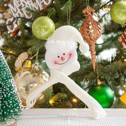목도리눈사람 25cm 트리 크리스마스 장식 인형 TRDOLC