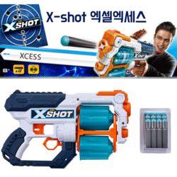 X-SHOT 엑세스 12연발 너프건