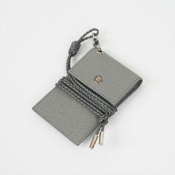 보스탄틴 가죽 목걸이 카드지갑 BL76043 GR
