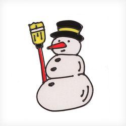 눈사람 글라스스티커 중 20cm 트리 크리스마스 TRMBLS