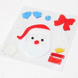 산타얼굴 젤리스티커 20cm 트리 크리스마스 TRMBLS