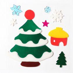 집트리 젤리스티커 20cm 트리 크리스마스 장식 TRMBLS