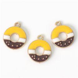 금속참장식-도넛(3개)[1619]