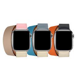 애플워치 더블투어배색 밴드 더블 38mm 42mm 시계줄