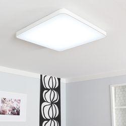 LED 라인 거실등 일체형 110W (화이트 블랙)