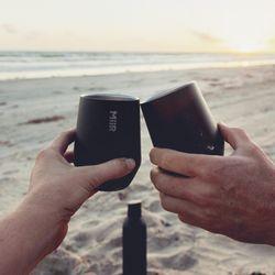 미르 와인 텀블러 10oz - 블랙