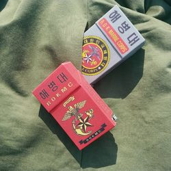 옛날담배 해병대 담배케이스 CIGARETTE CASE