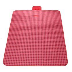 피크닉 체크 돗자리 (145x200cm)(핑크)
