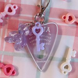 my favorite color: lavender ouija 키링