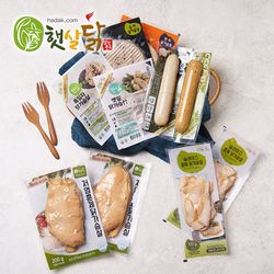 [상품명에 브랜드명 기재X] 닭가슴살 맛보기세트 8종 기획세트10팩