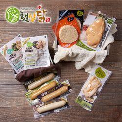 [상품명에 브랜드명 기재X] 닭가슴살 맛보기세트 10종 기획세트10팩