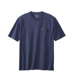 데슈트 반팔 포켓 티셔츠 네이비