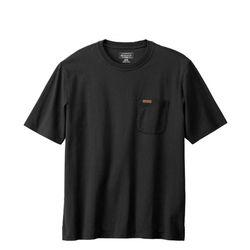 데슈트 반팔 포켓 티셔츠 블랙