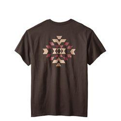 바스켓 메이커 반팔 티셔츠 쵸콜렛