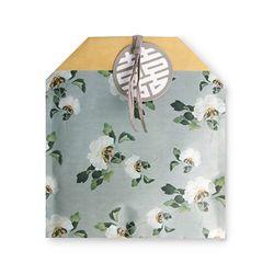 전통민화 흰꽃 봉투 (10개)
