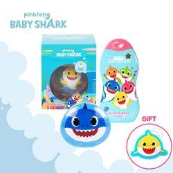 핑크퐁 아기상어 목욕SET 블루 (목욕스펀지)