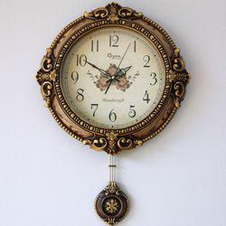 엔틱로즈 추벽시계
