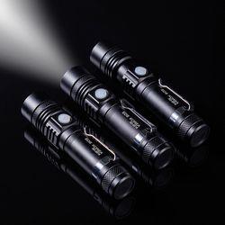 줌라이트 LED 후레쉬 USB충전 충전지포함