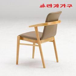 토빌 고무나무 원목 식탁 의자 A타입