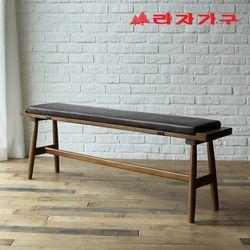 도스 고무나무 원목 2인 식탁 벤치의자 1200