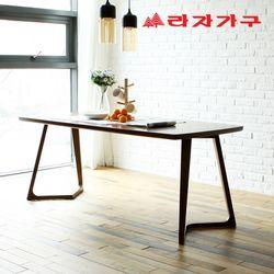 도스 고무나무 원목 6인 식탁 테이블 1800
