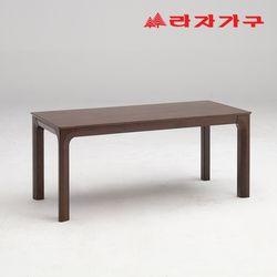토빌 고무나무 원목 식탁 테이블 6인용 1800